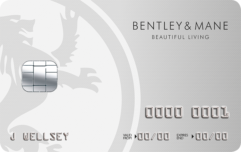 Bentley & Mane Club Card