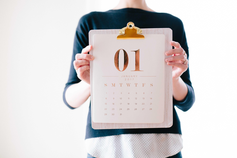 Financial Power of Attorney Calendar