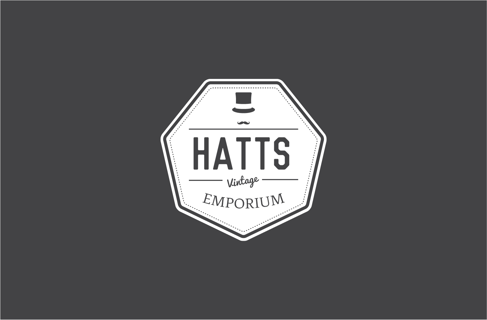 logo design for vintage clothing emporium in Cardiff
