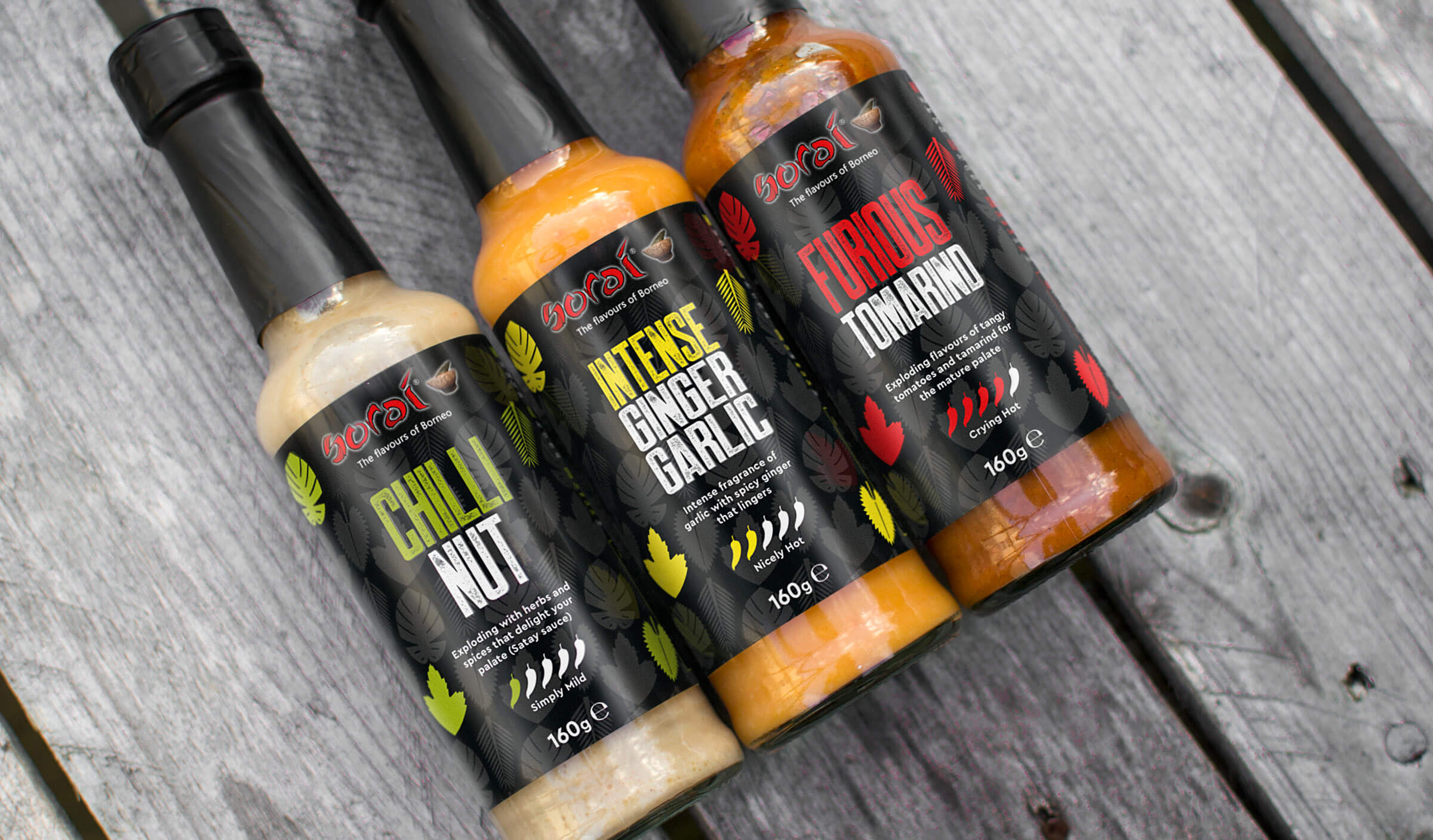 Packaging design for South Wales based hot sauce producer