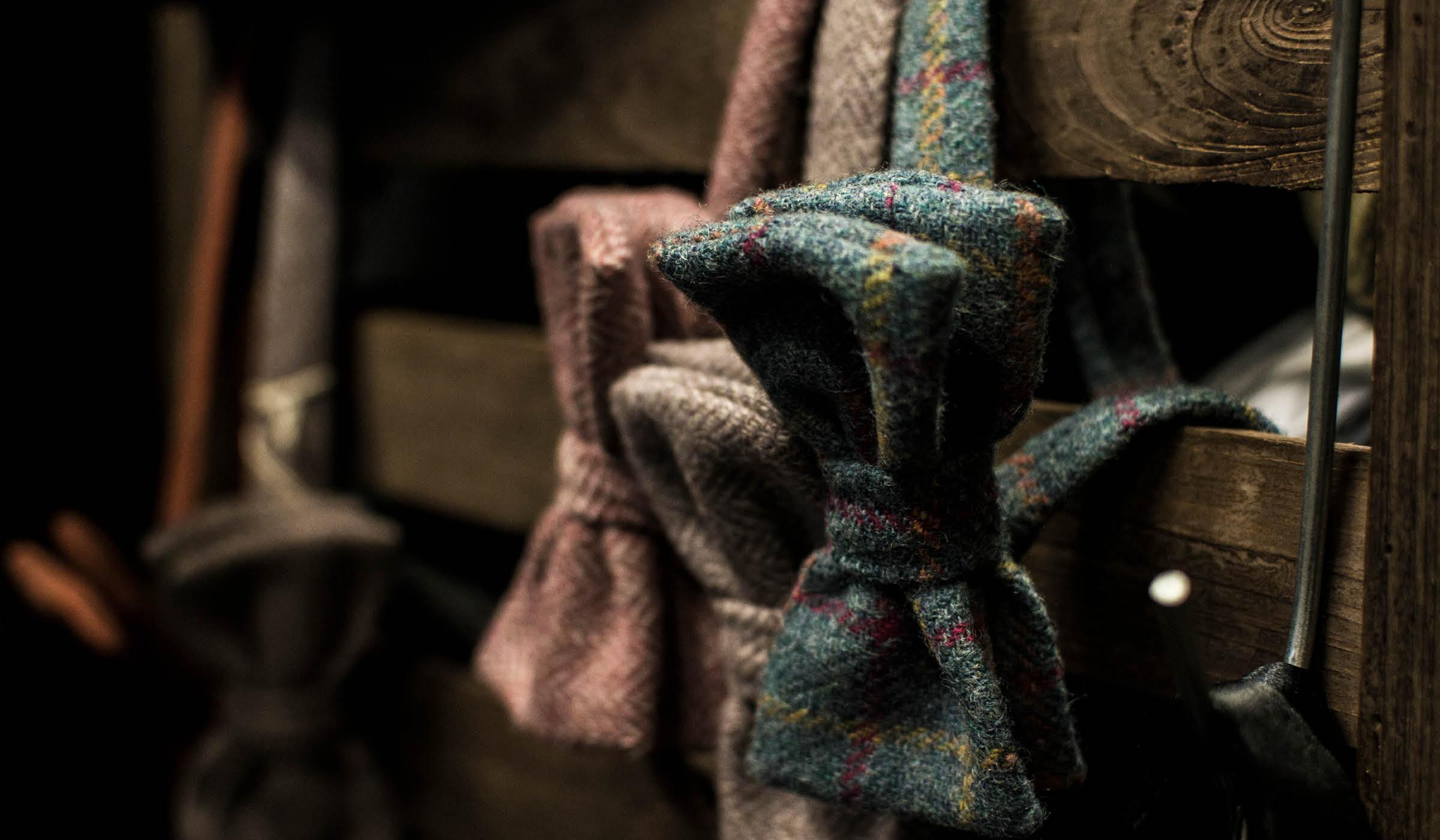 Photo of vintage bow ties