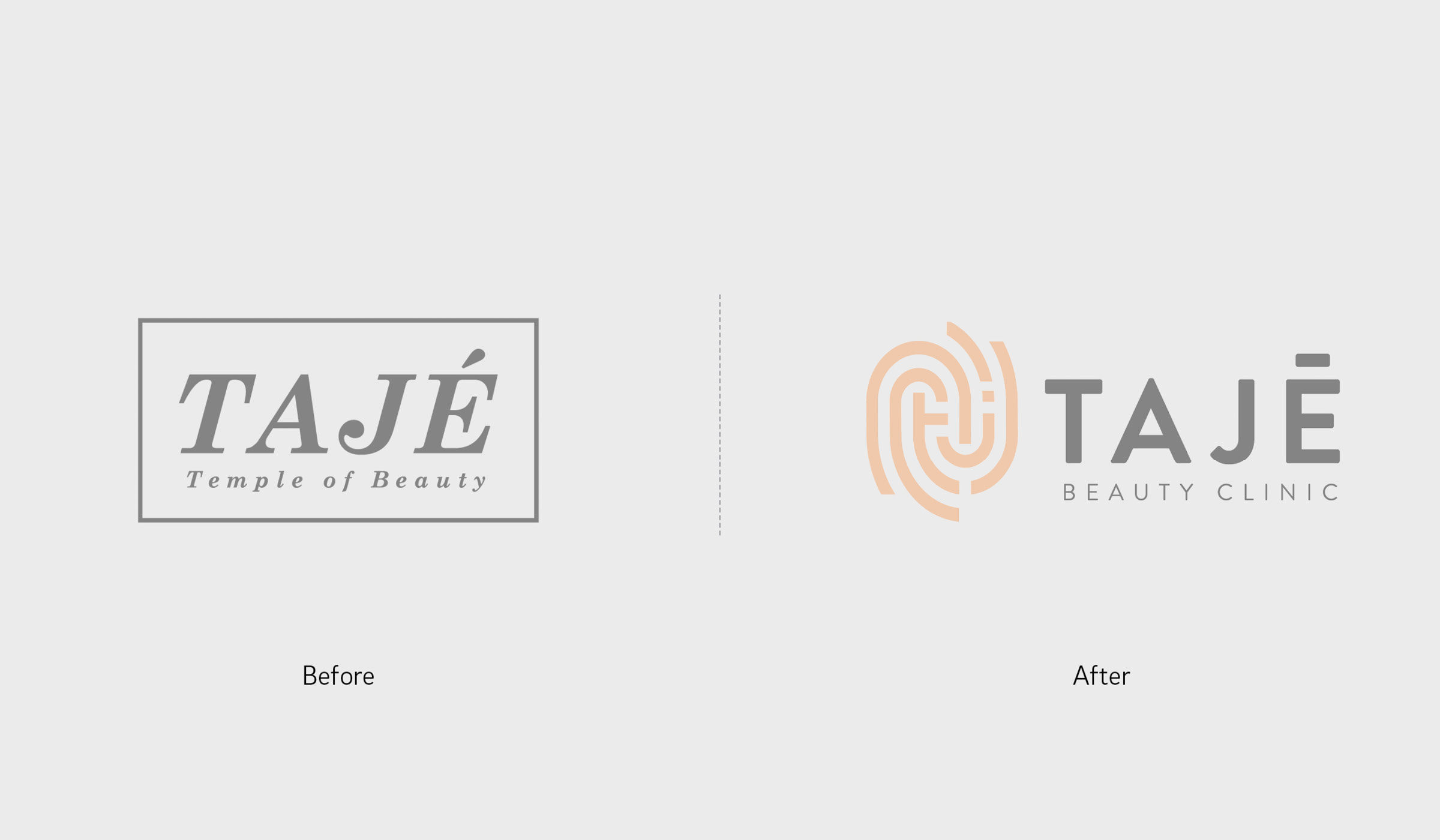 logo design before and after