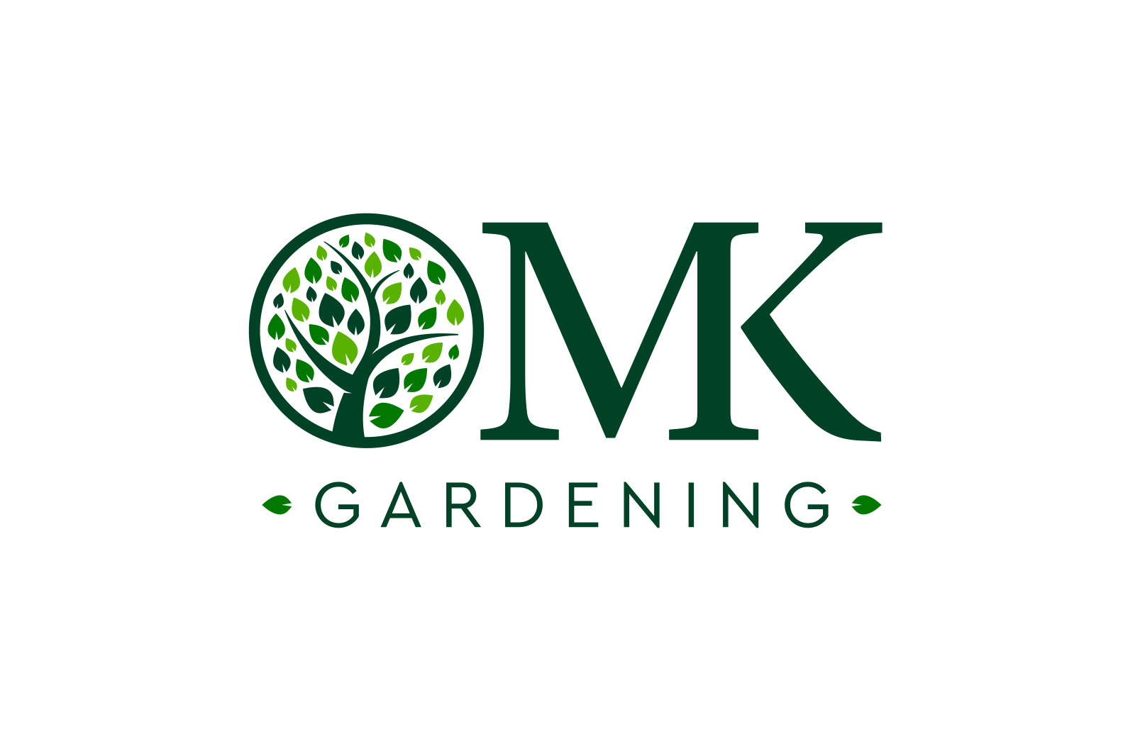 Logo design for a gardener in Rickmansworth