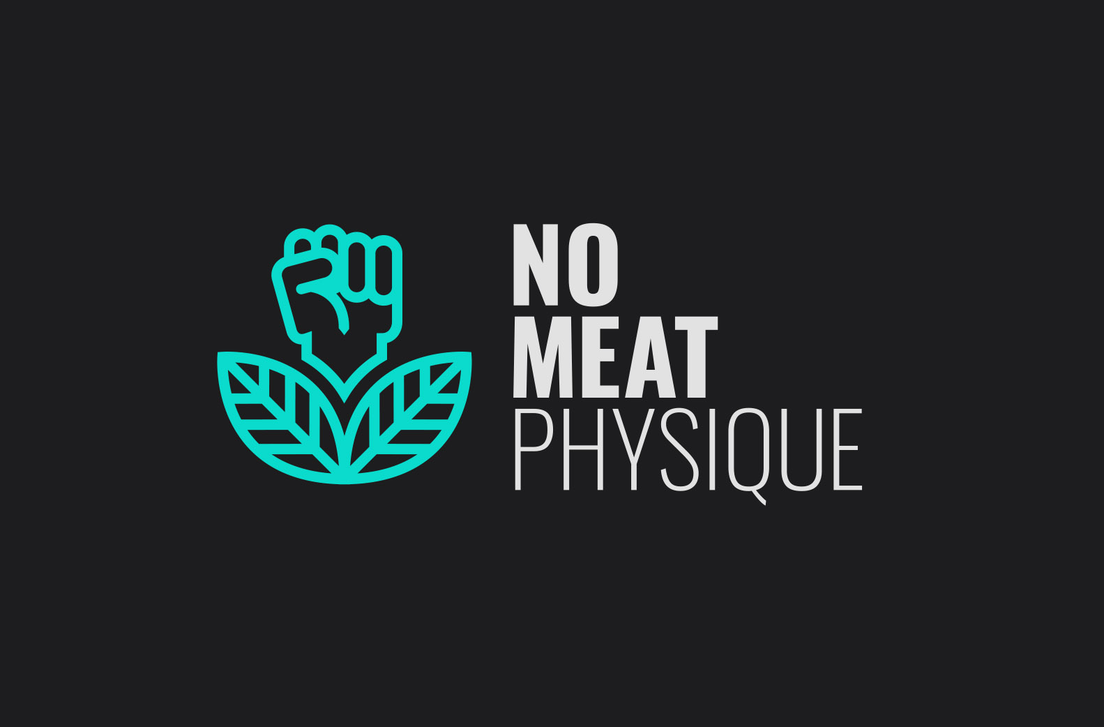 logo design for vegan health and fitness coach