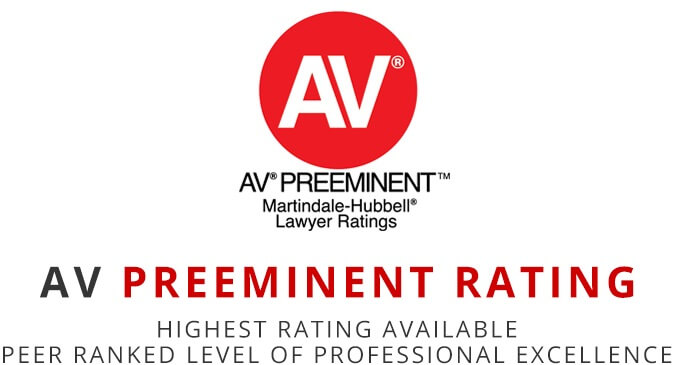 AV Preeminent Rating- Lawyer Ratings