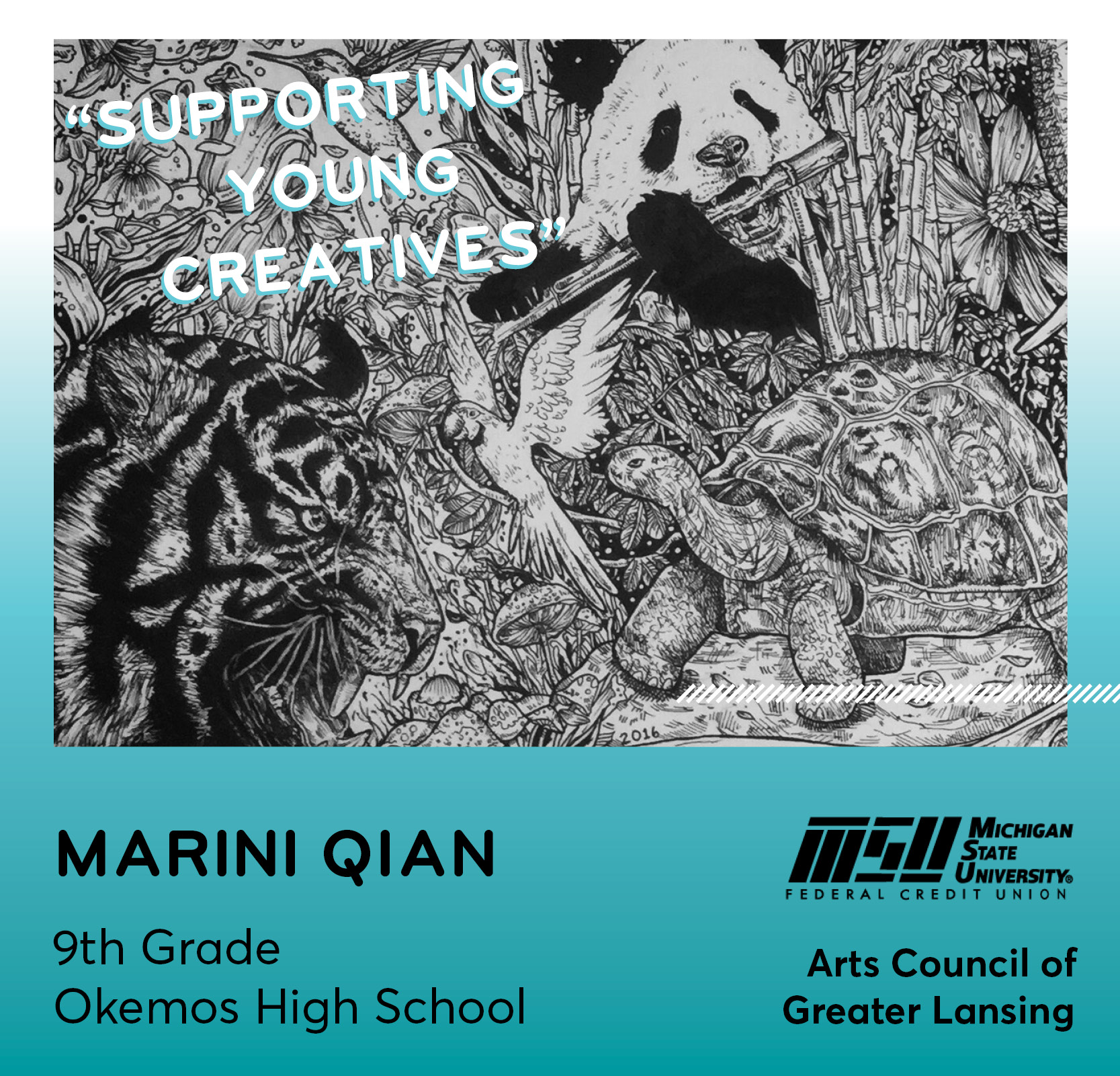 Marini Qian Billboard