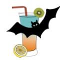 Halloweenská oslava se strašidelnými koktejly