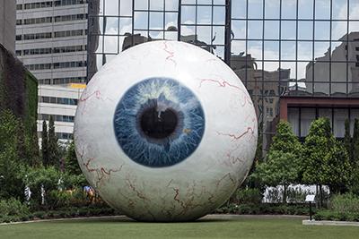 Giant Eyeball, Dallas Eye & Ear