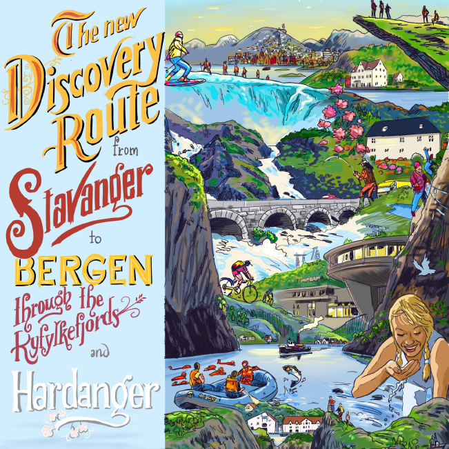 Image of Discovery Route poster