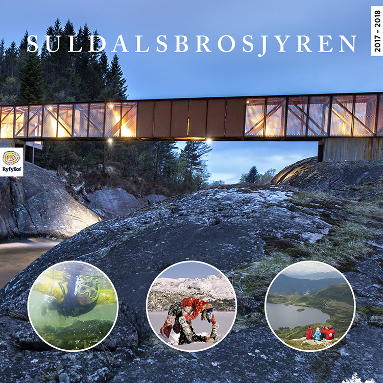 Image of Suldal travel brochure