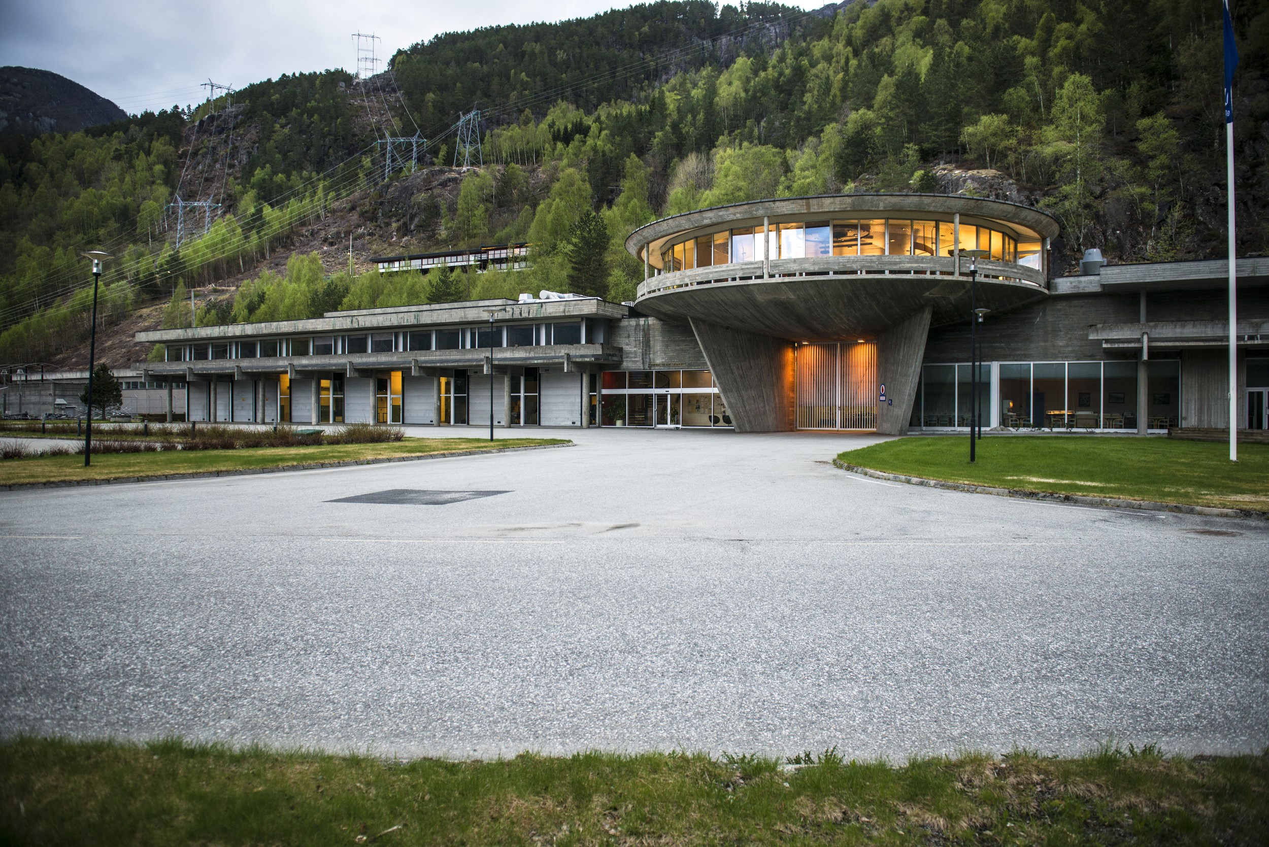 Picture of Geir Grung architecture at Nesflaten, National Scenic Route Ryfylke