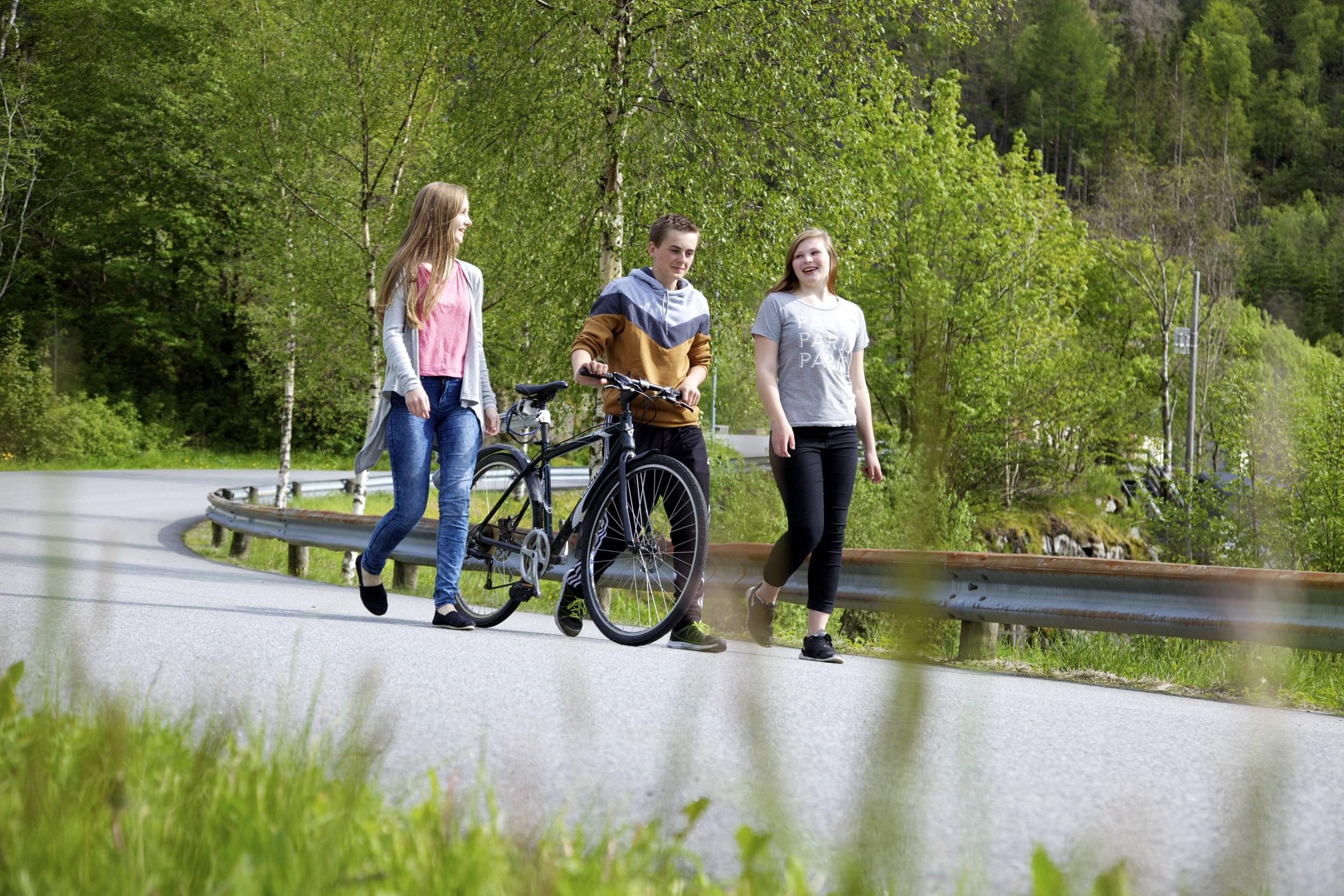 Biking in Suldal