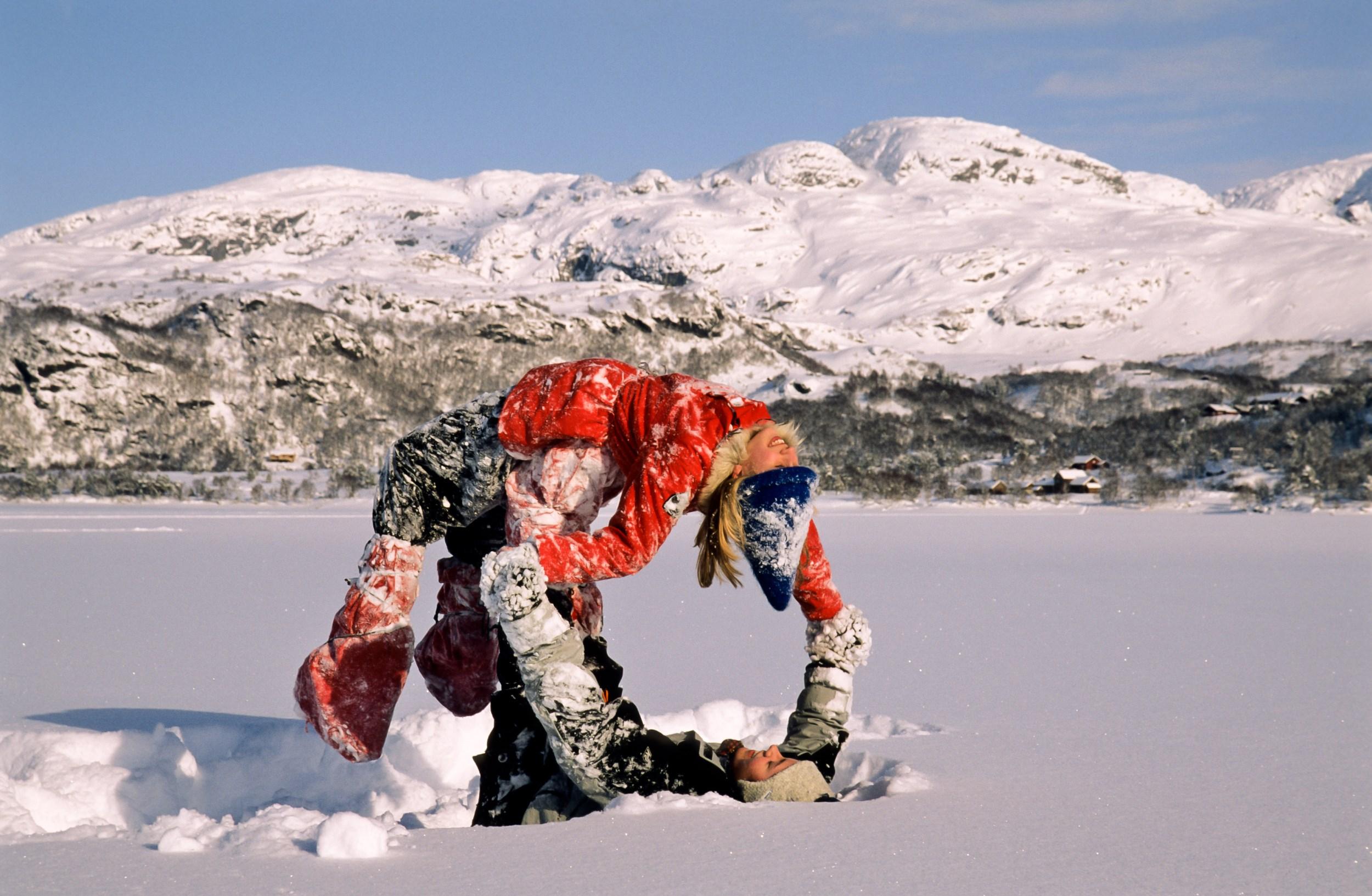 Gullingen in wintertime