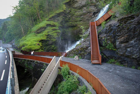 Picture of Svandalsfossen, National Scenic Route Ryfylke