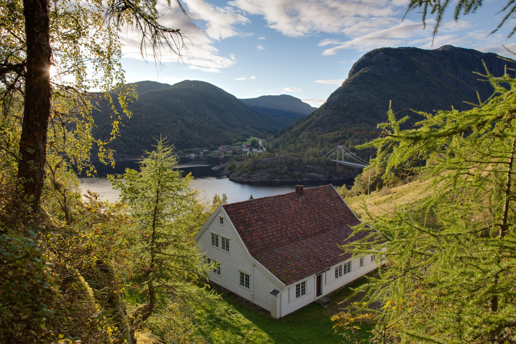 Picture of Hålandstunet farmstead, Erfjord