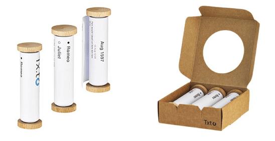 Tx.to vous permet d'imprimer sur papier des rouleaux de SMS