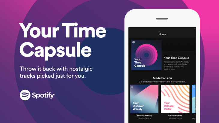 Your Time Capsule Playlist Spotify
