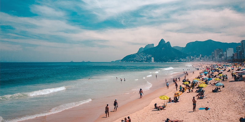 Copa Cabana at Rio de Janeiro is where you want to spend new year's eve