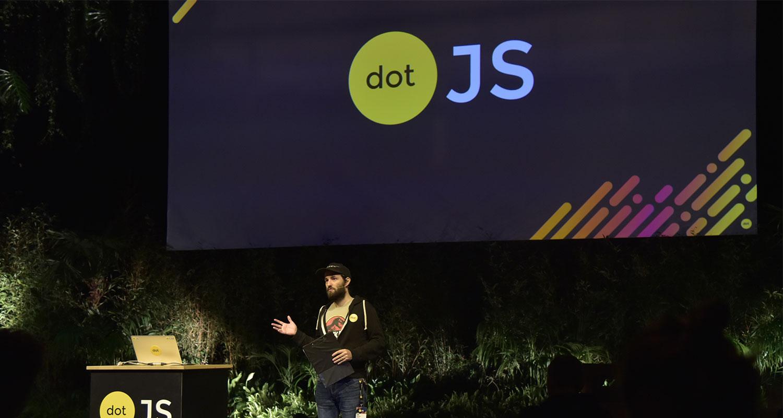 dotJS tech conference in Paris 2017