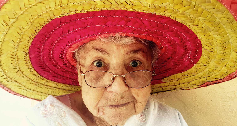 Granni love mexican sombreros! family memories