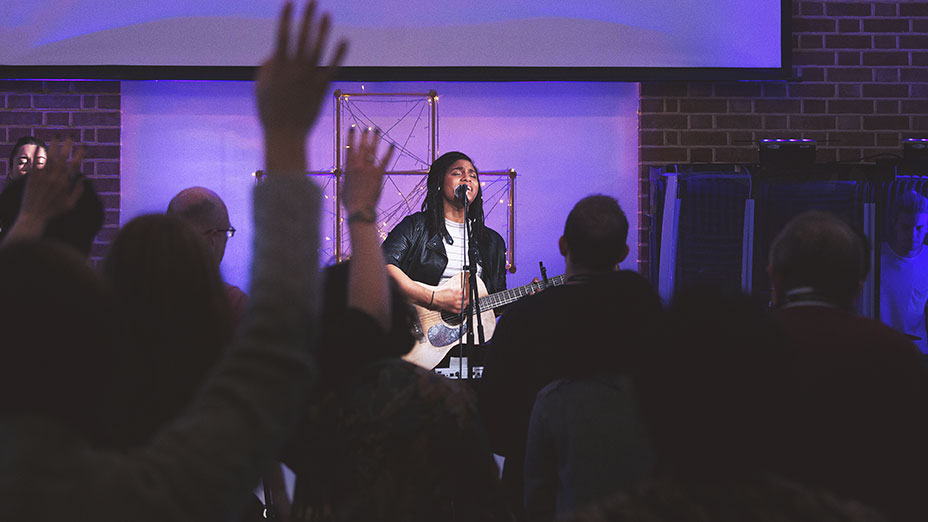 Vibrant and contemporary worship during the Half Six