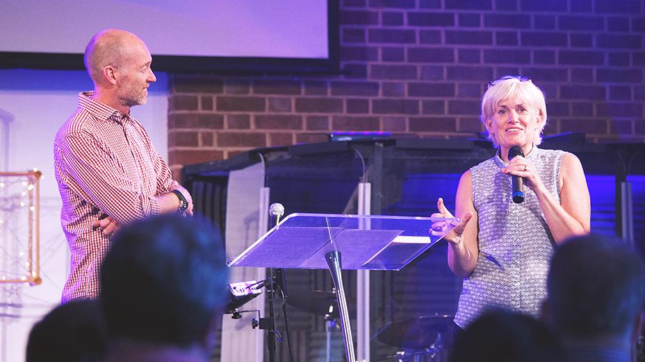 Ruth and James Poch vision casting at regeneration Church