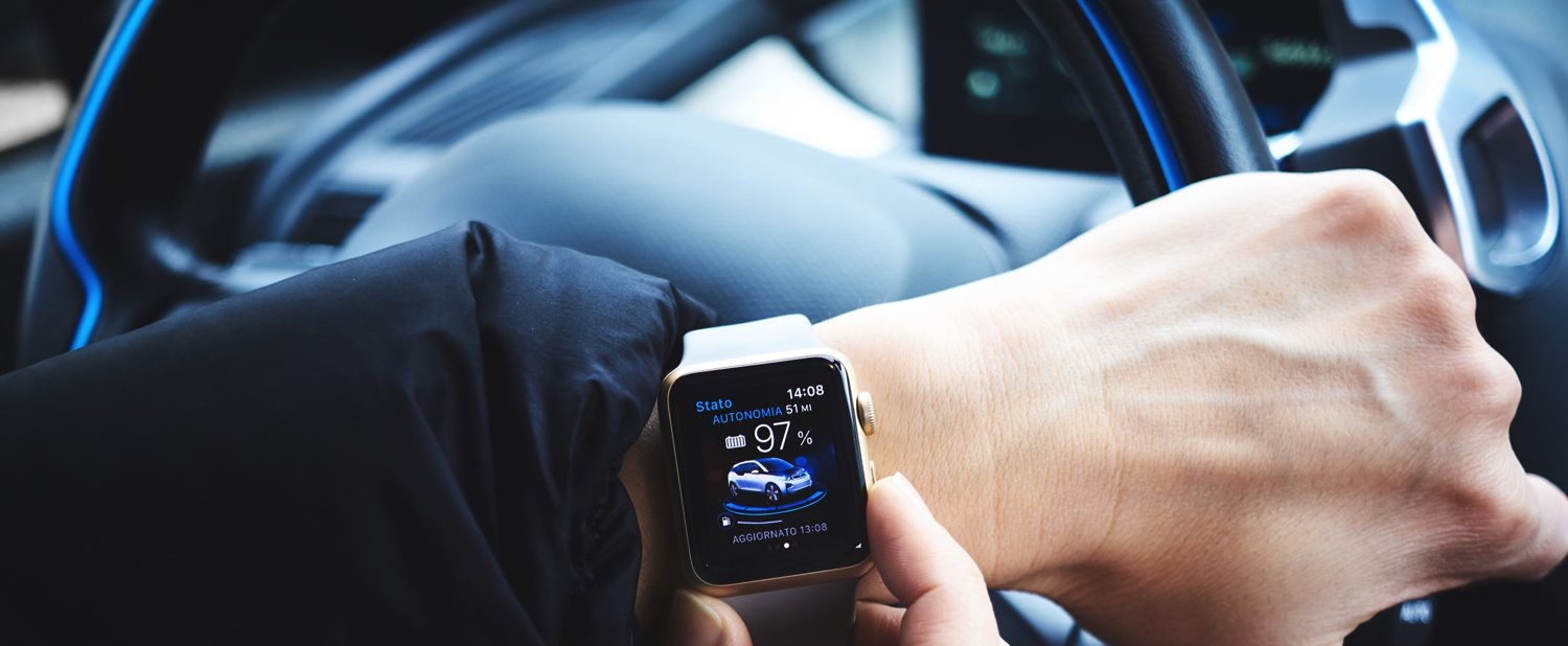 Apple Watch and Car