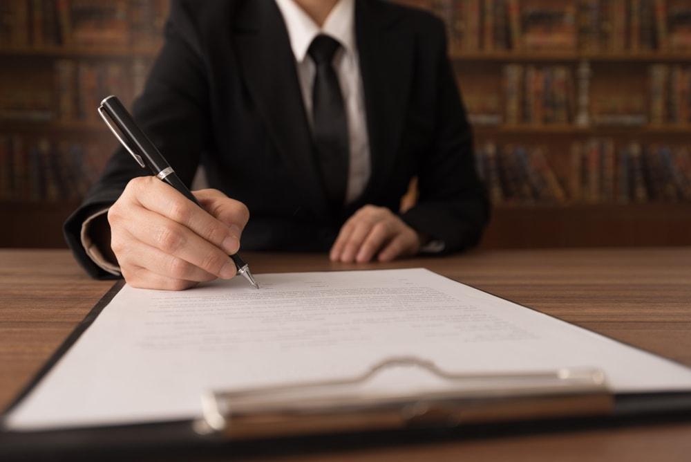 Lawmaker drafting a legislation