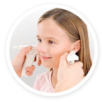 håltagning öron
