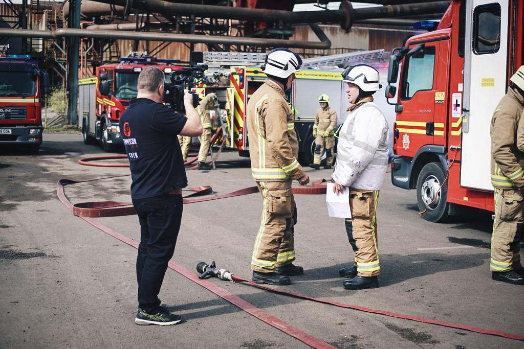 Beverley Filmmaker - Humberside Fire and Rescue Service Film
