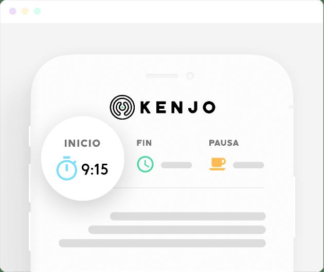 funcionalidad de plantilla de comunicacion de Kenjo