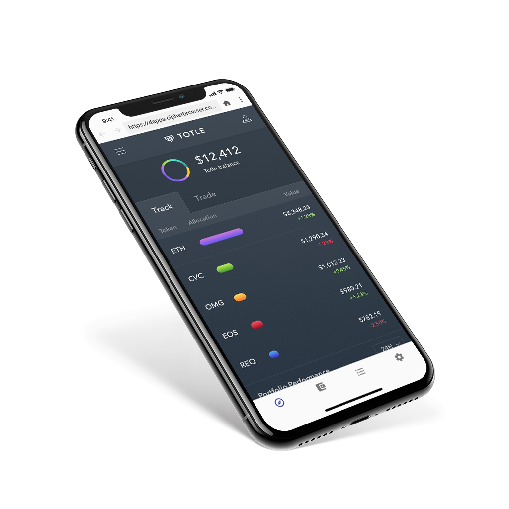 Wallets for in-app trading