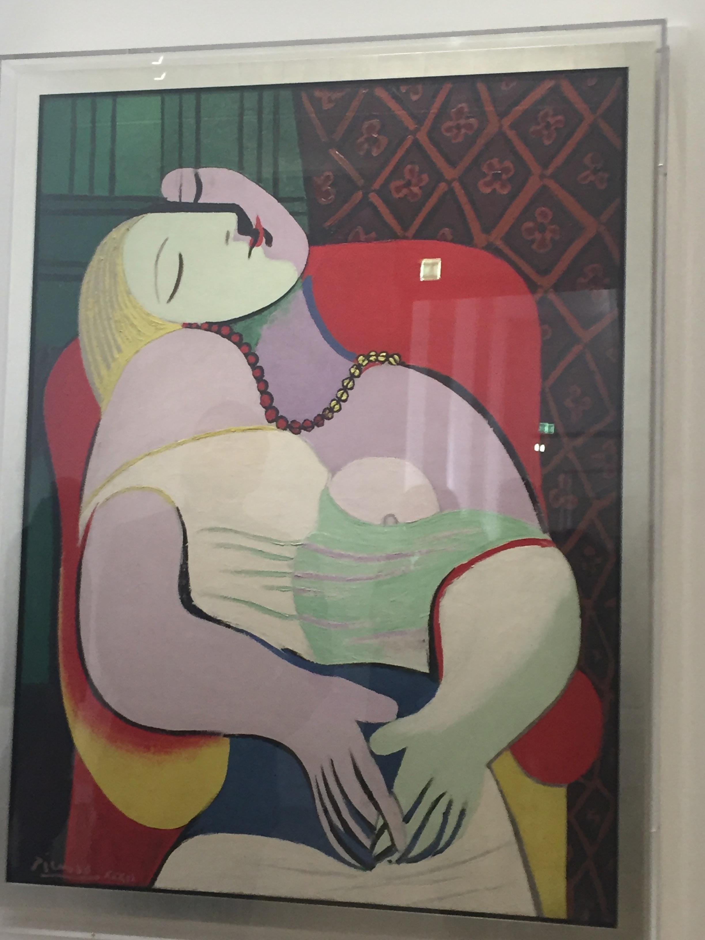 "Picasso's ""Le Reve"""