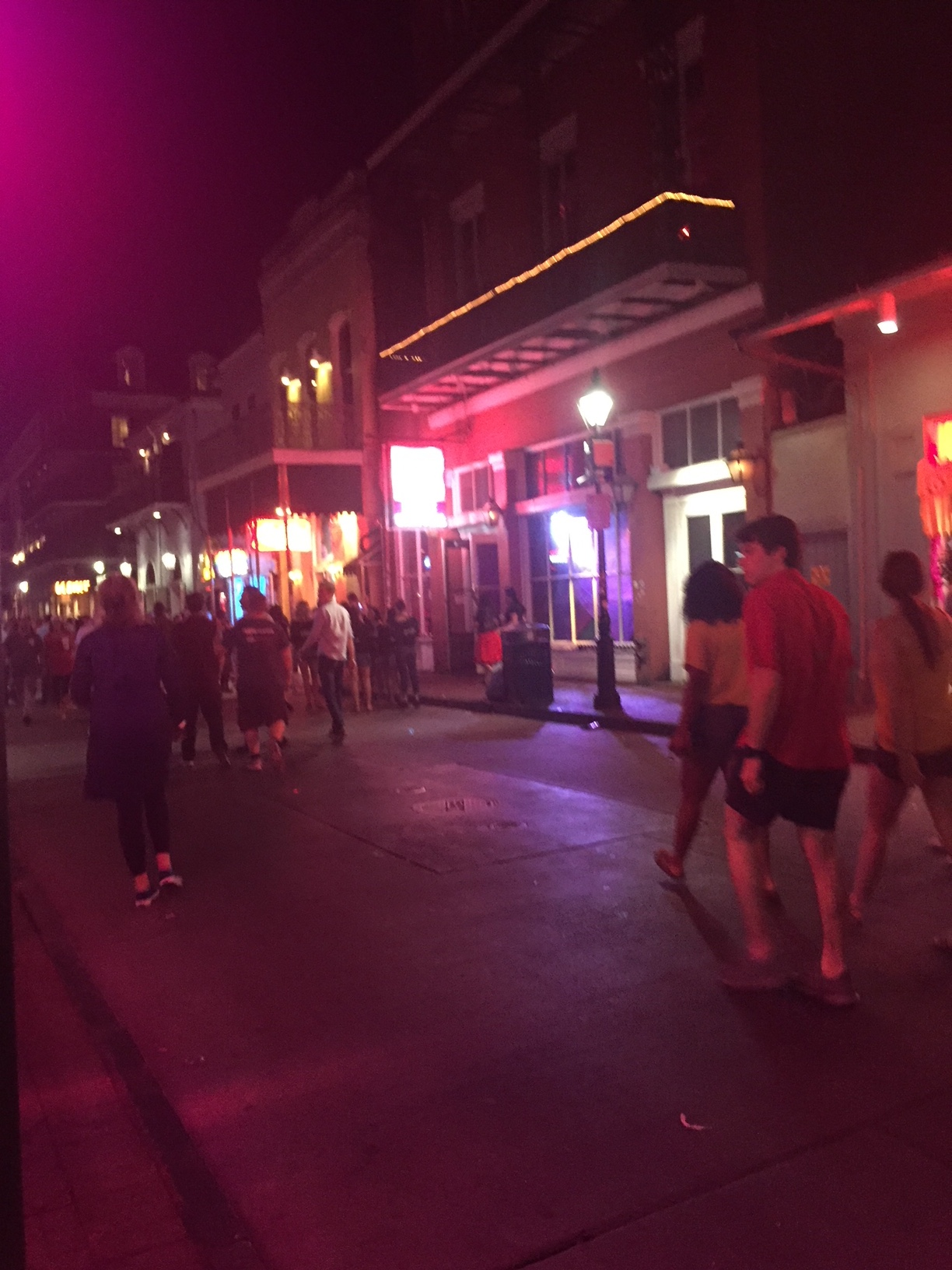Neon Lights of Bourbon Street