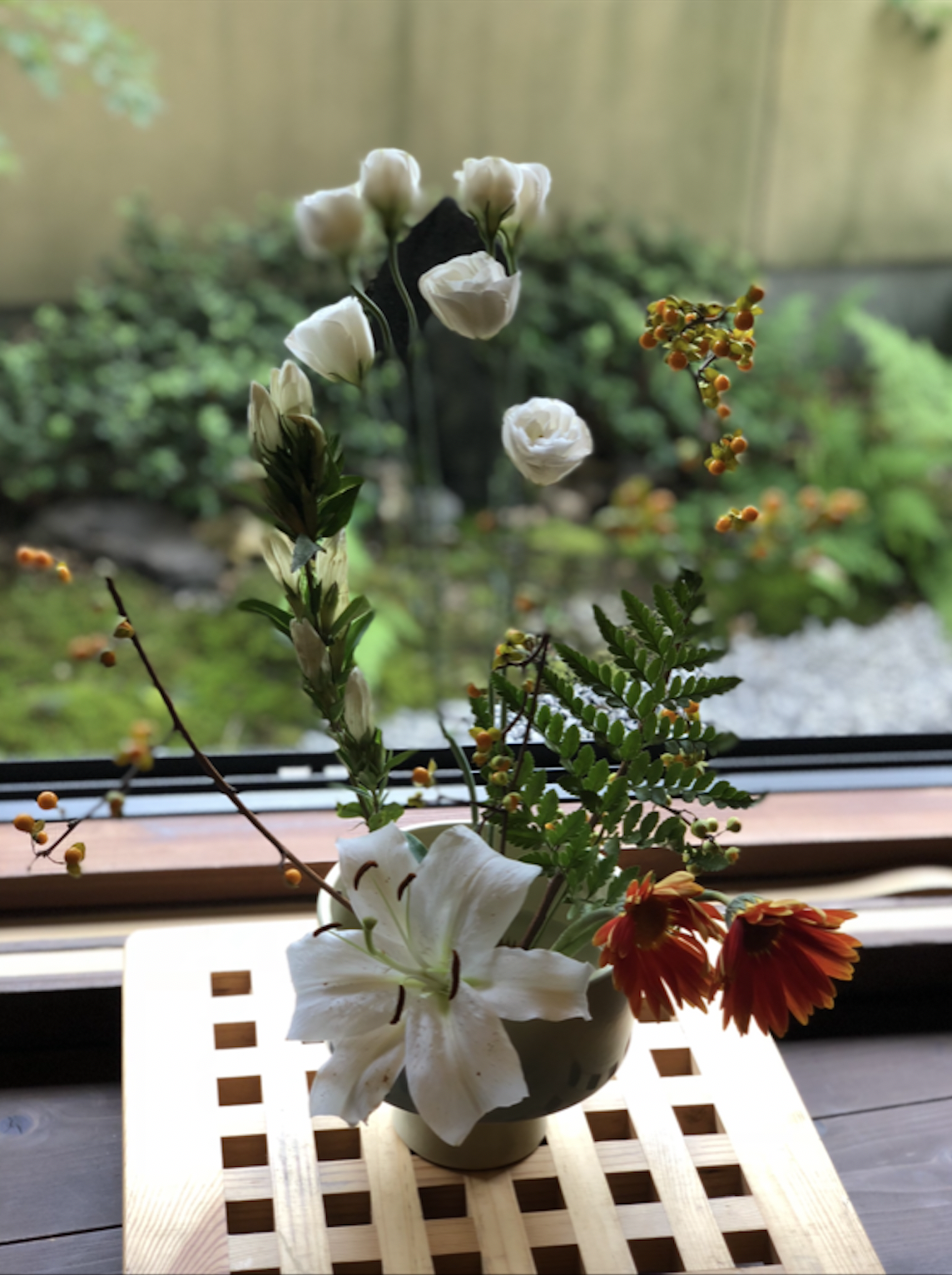 My Ikebana Floral Arrangement