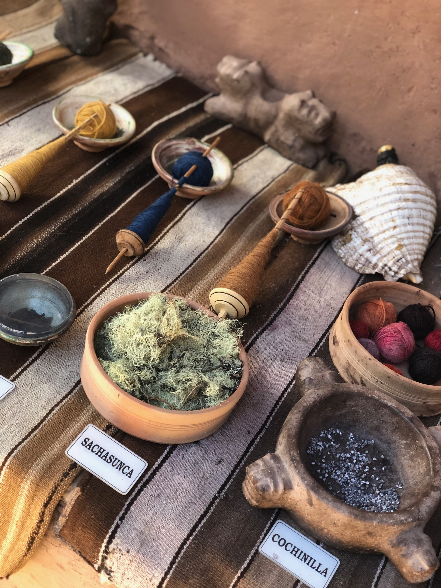 Natural Products to Produce Alpaca Dyes
