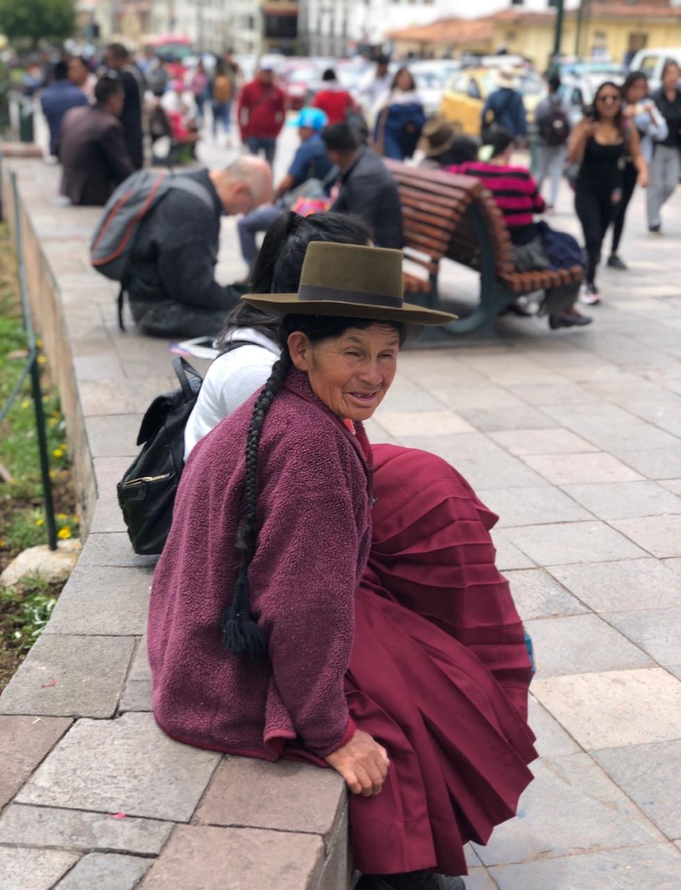 Beautiful Local in Cusco