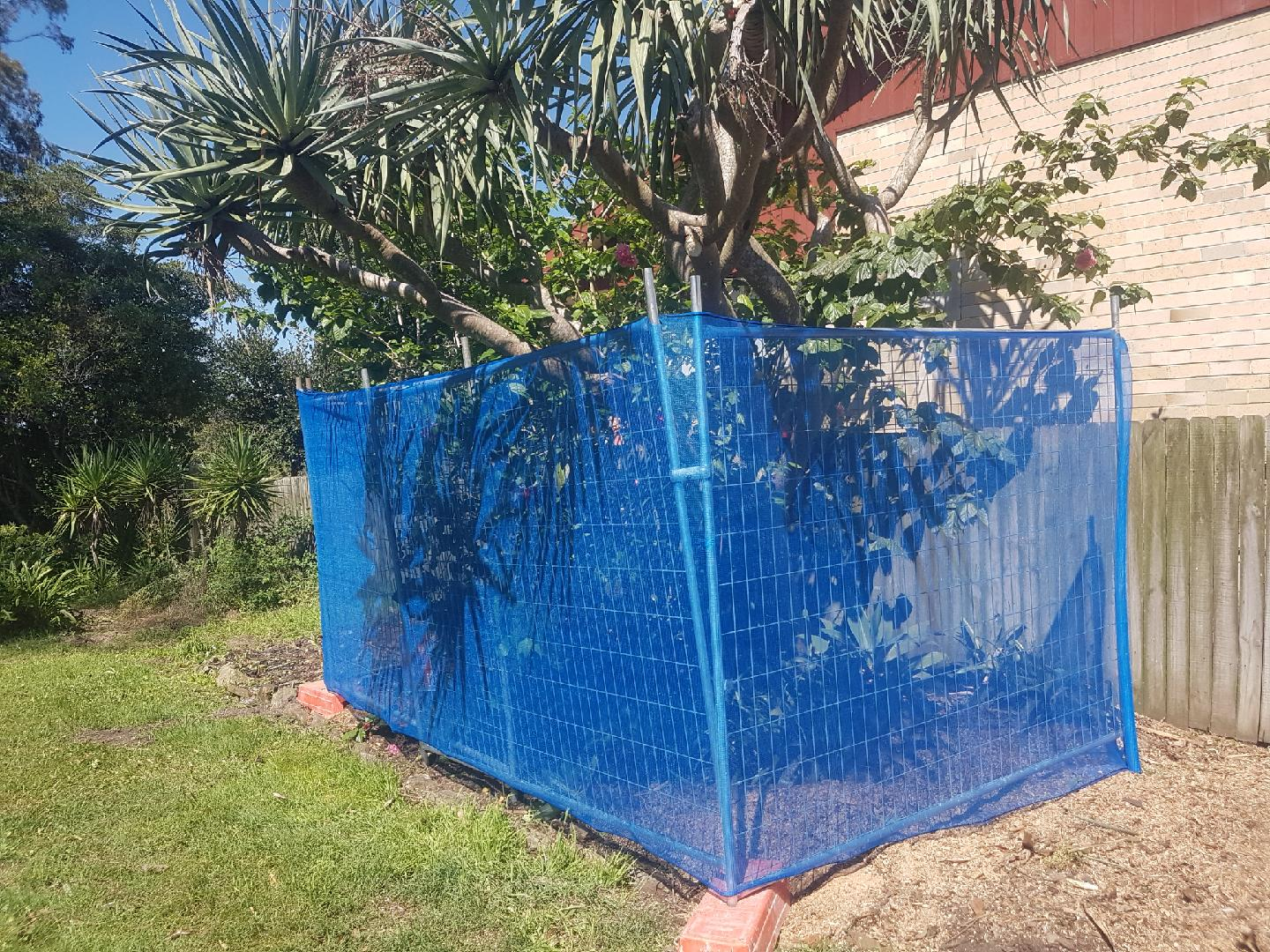 SBS Temporary Fence - Tree Protection Fencing