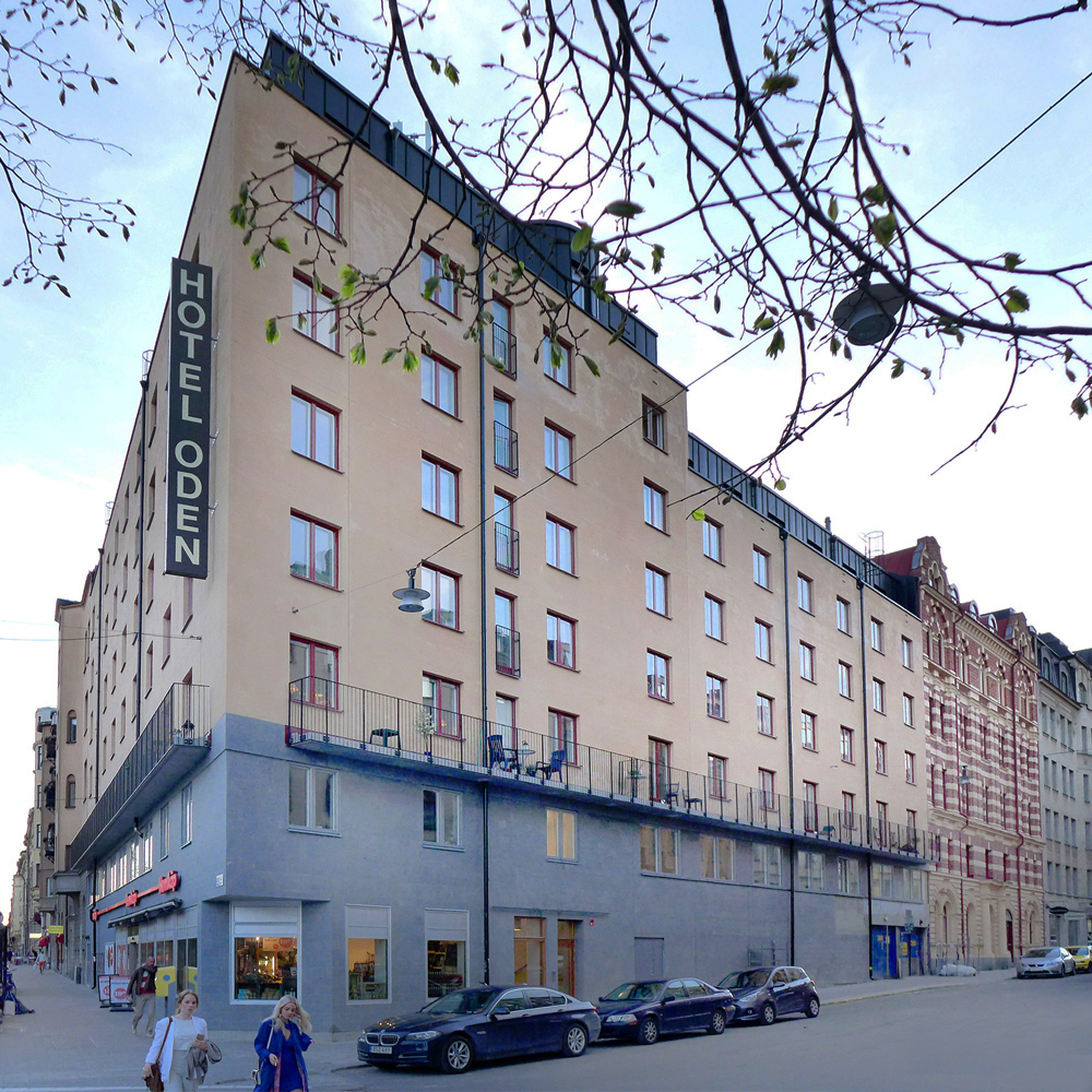 Ombyggnad Hotel Oden