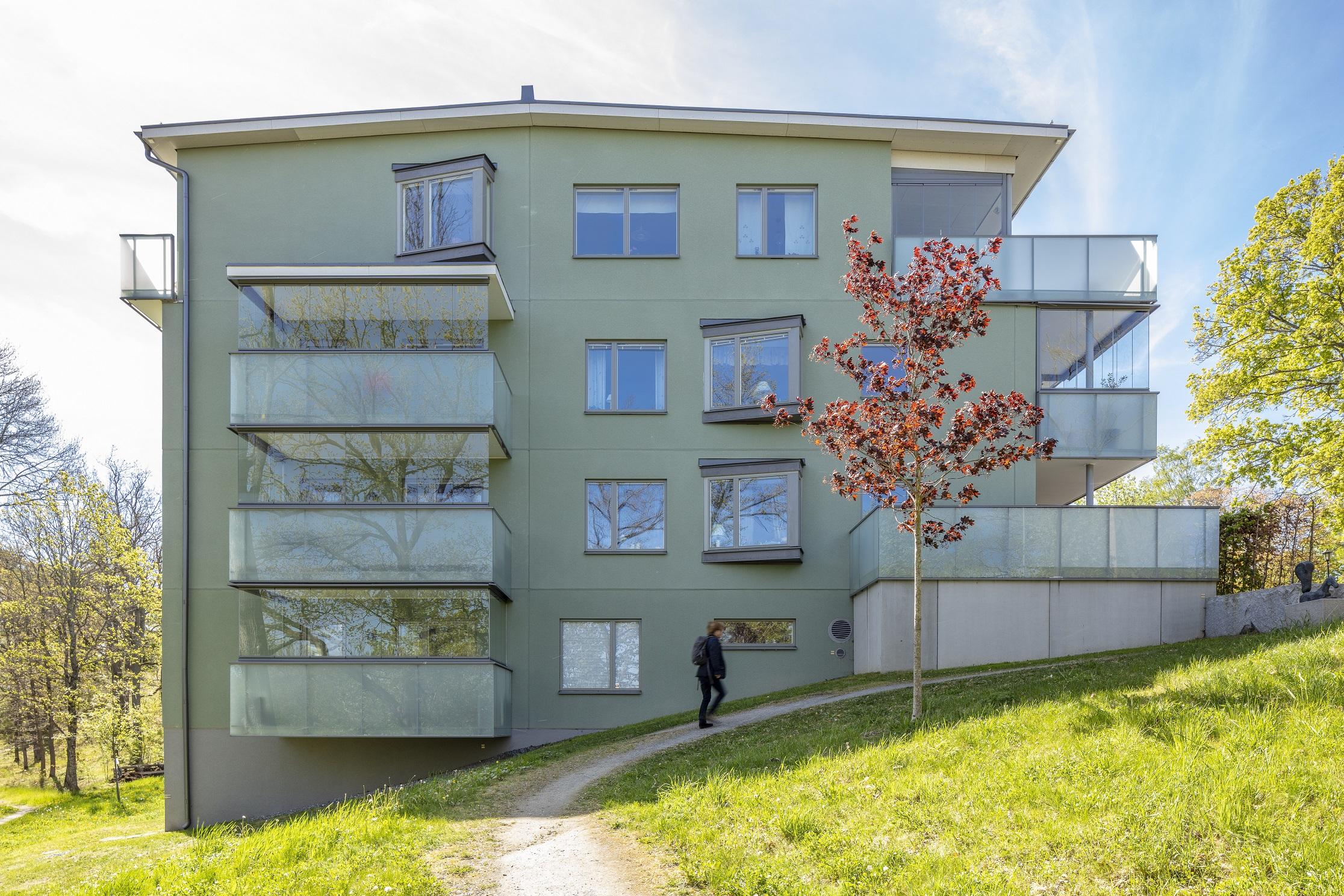 Nybyggnad Jakobsbergs gård