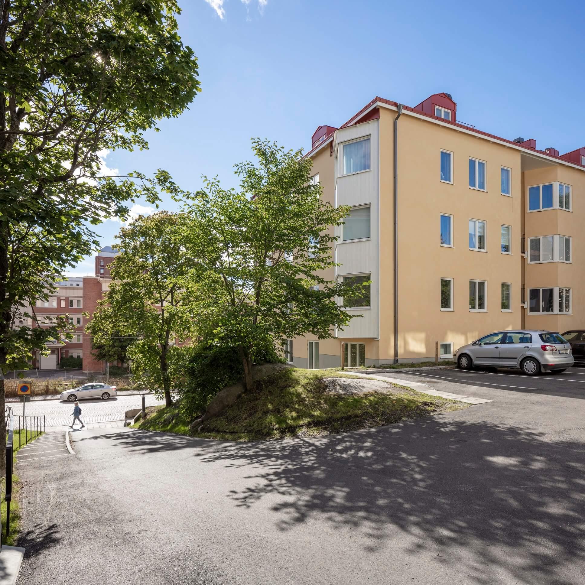 Renovering & tillbyggnad av bostadshus i Sundyberg från 1940-talet
