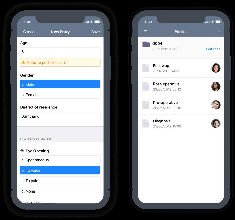 Teamscope app screenshot