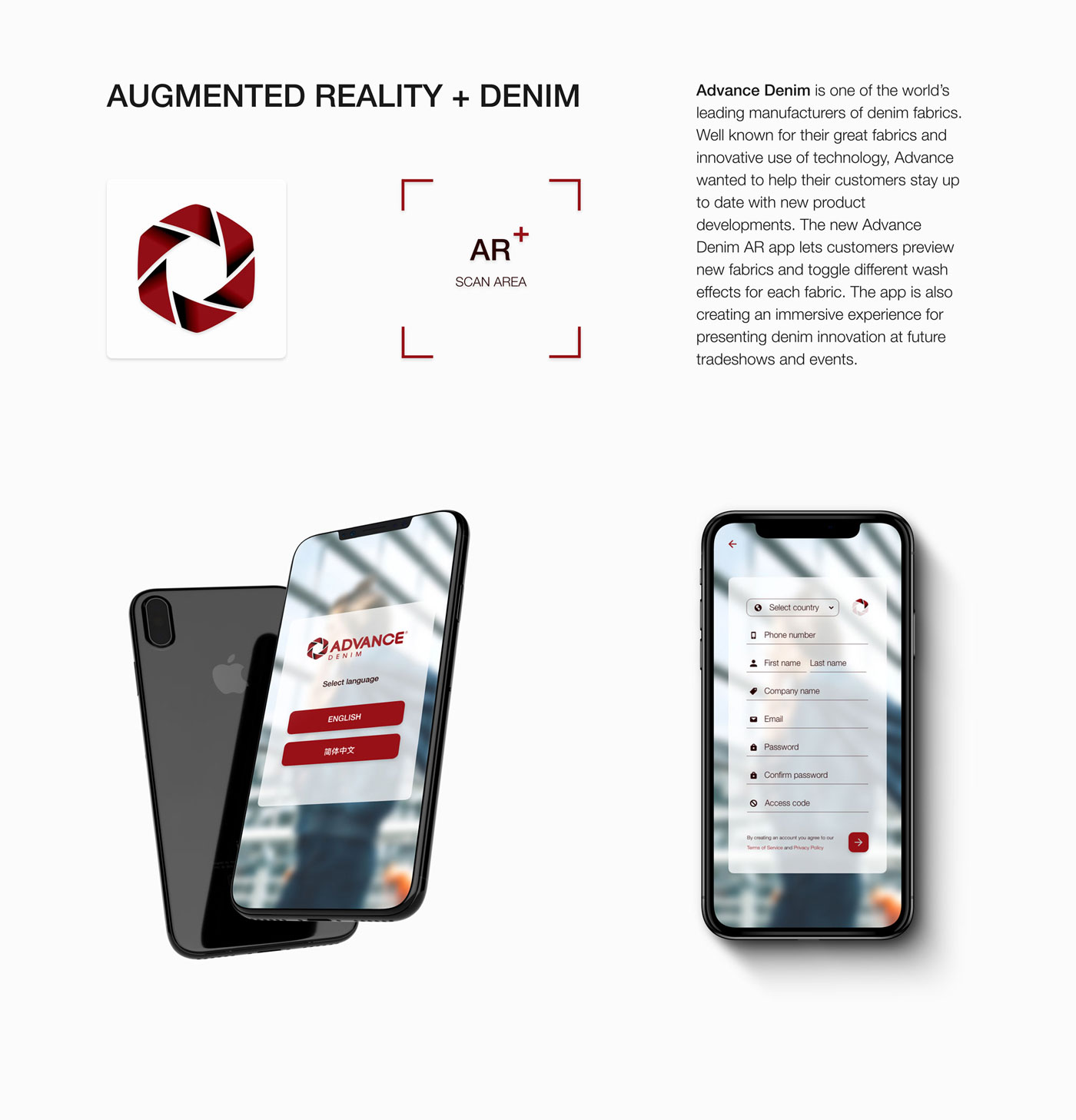 NEO-ARX_Advance_denim_mobile_app_Augmented_reality