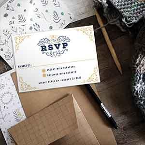 Custom RSVP Cards