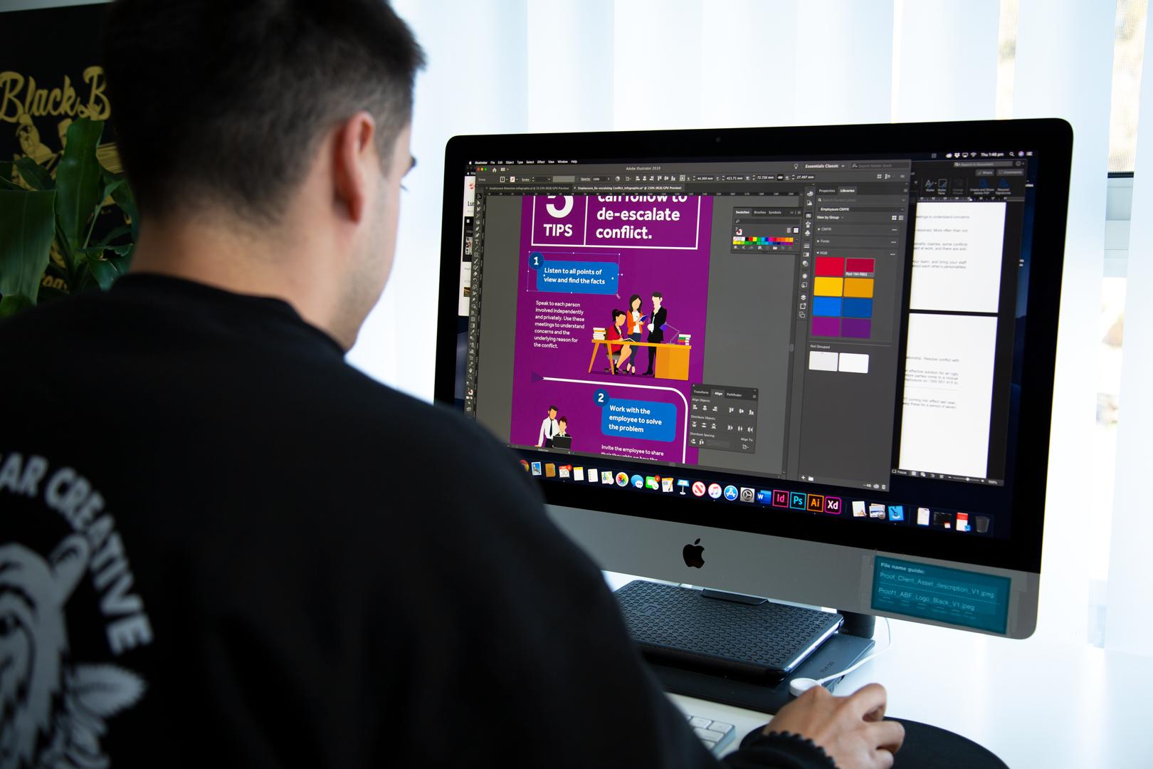 Digital ad design