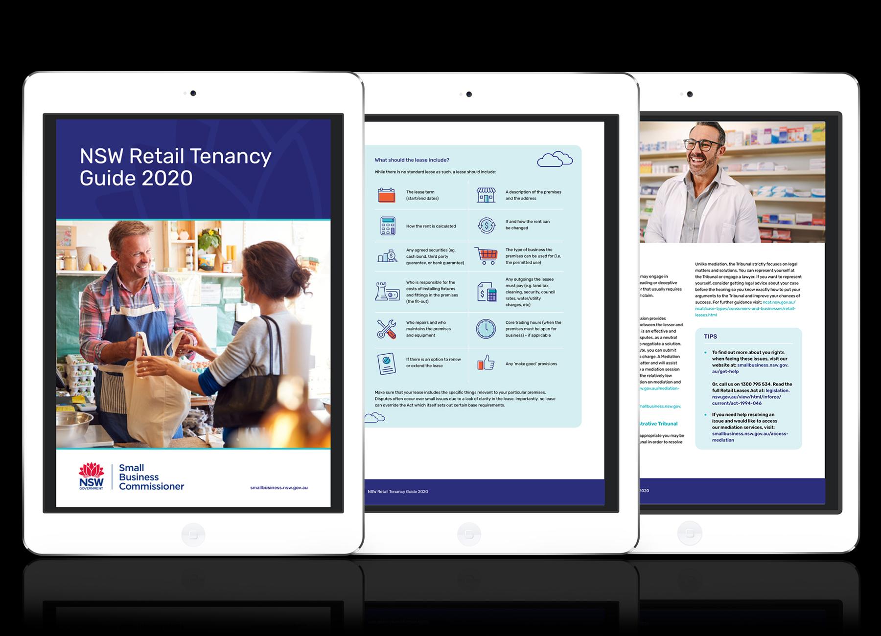 NSW retail tenancy guide 2020