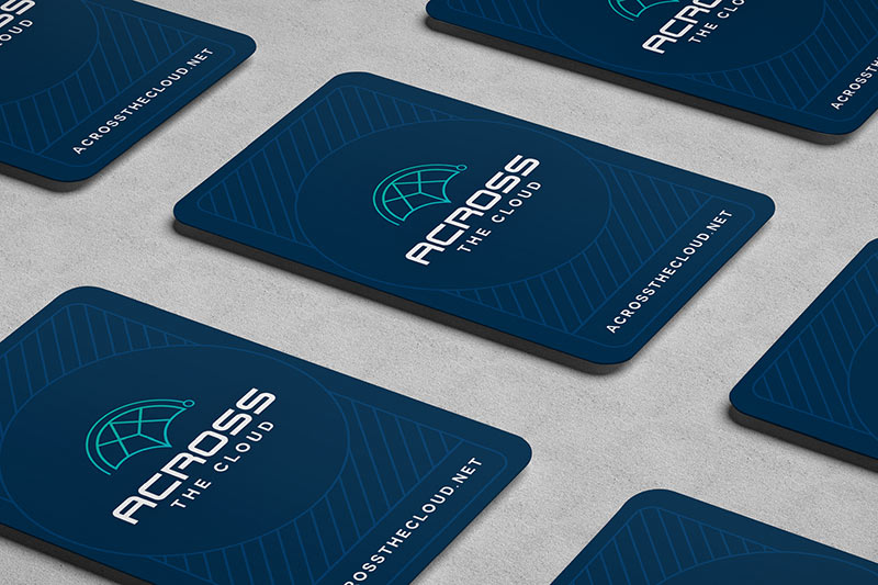 Across the cloud business card
