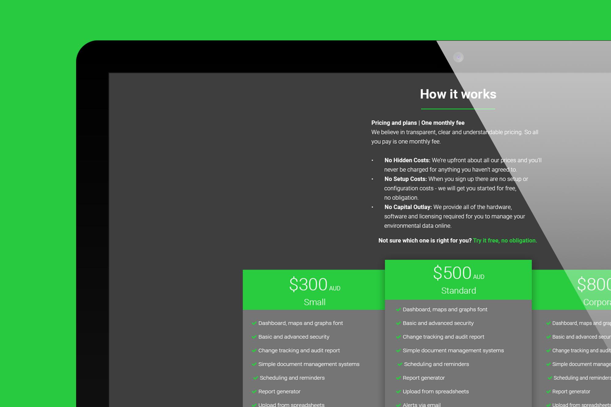 ETS website design
