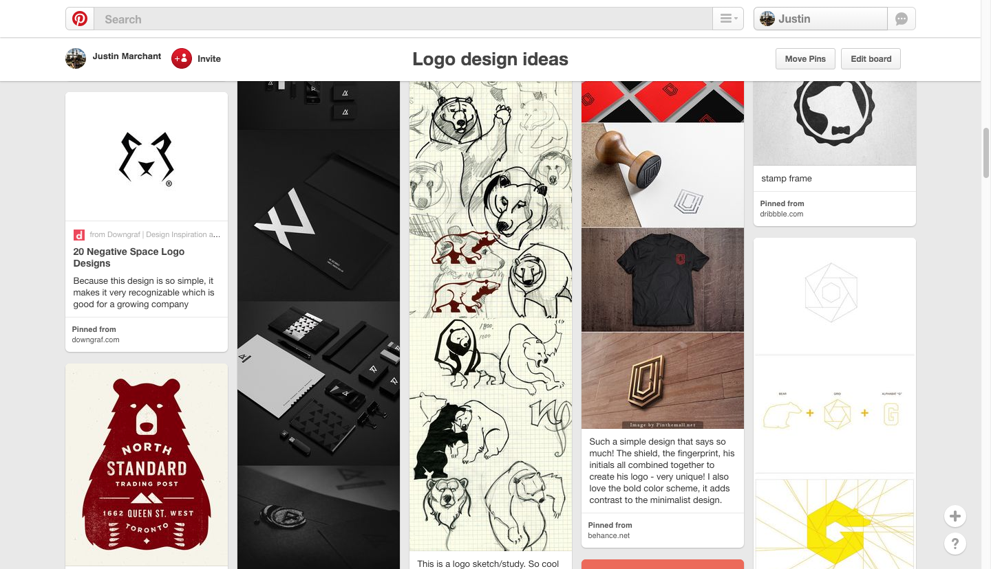 Pinterest examples of bears
