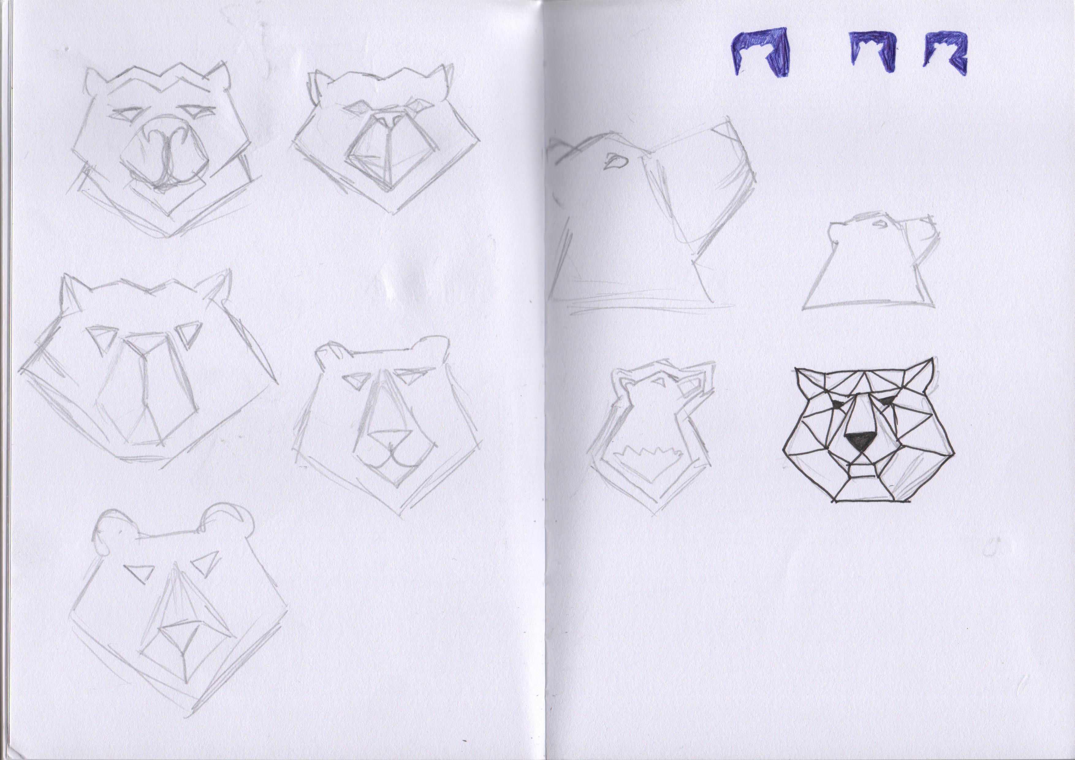 Concept sketches Black Bear